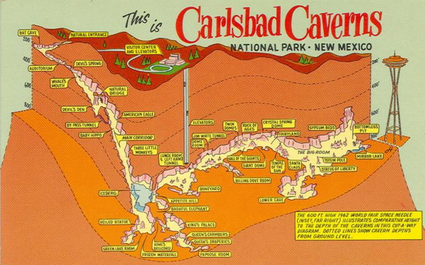carlsbad-caverns-postcard-map